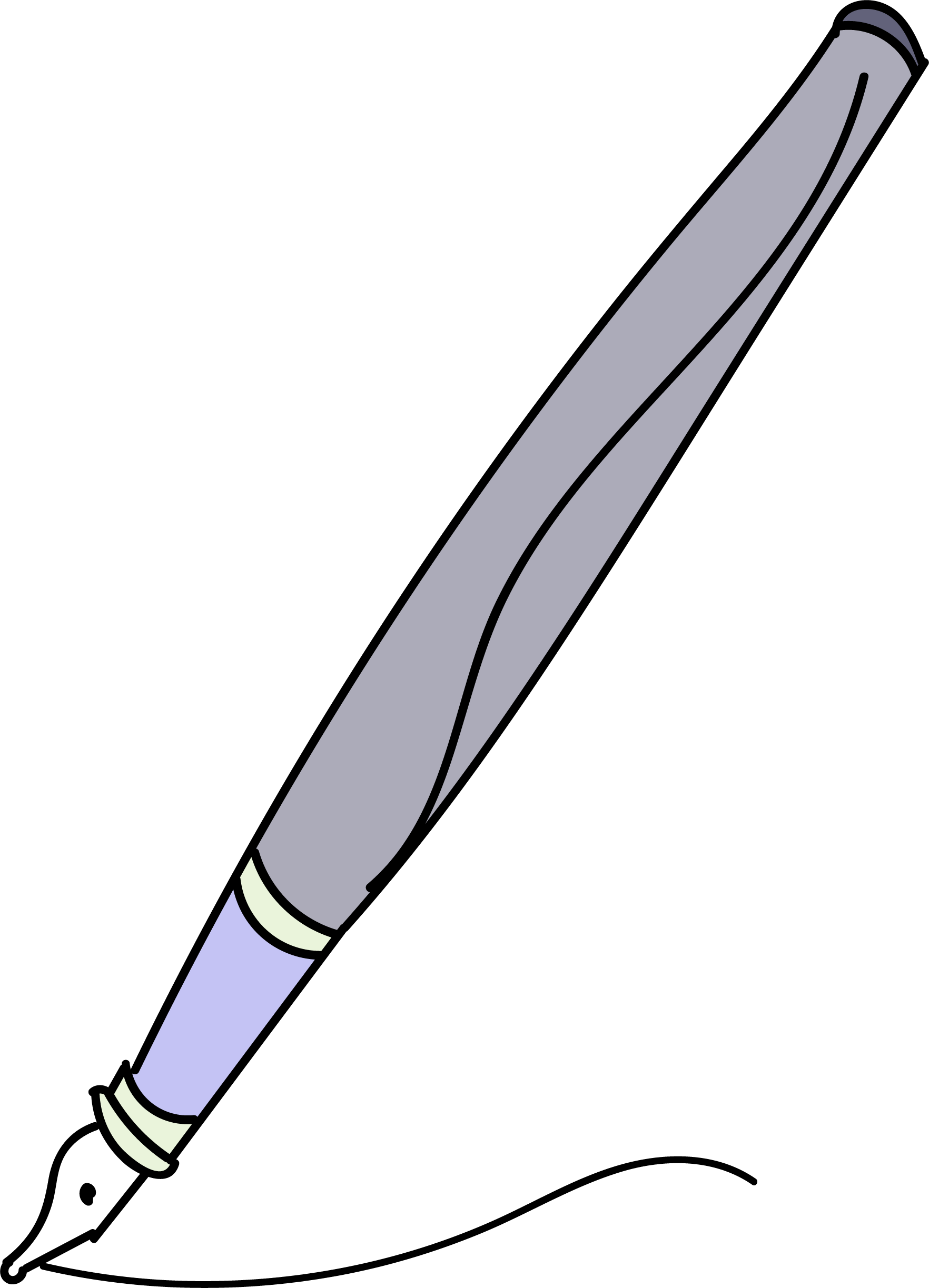 Side view of a house clipart svg freeuse Calligraphy Pen Side View Clipart Png - Clipartly.comClipartly.com svg freeuse