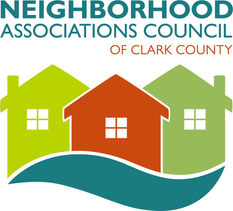 House & sidewalk clipart clip art black and white library Neighborhood Associations Council of Clark County Meetings and ... clip art black and white library