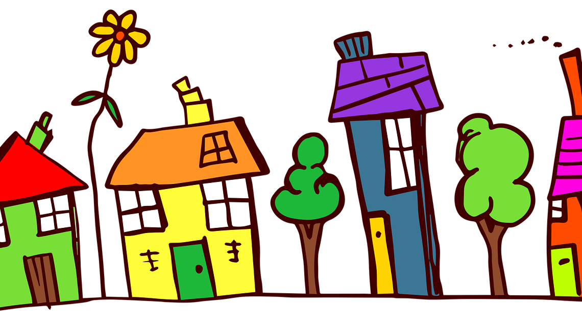 Ruined house clipart jpg transparent stock Dear Neighbors...Welcome To Our Freak Show - jpg transparent stock