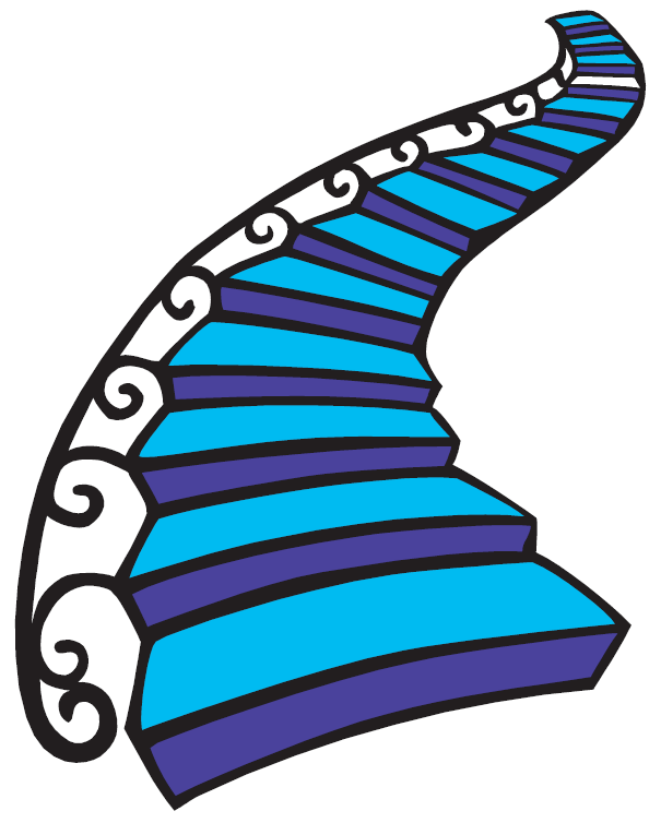 Stairs Clipart Png. Perfect Stairs Silhouette Clipart With Stairs ... jpg royalty free download