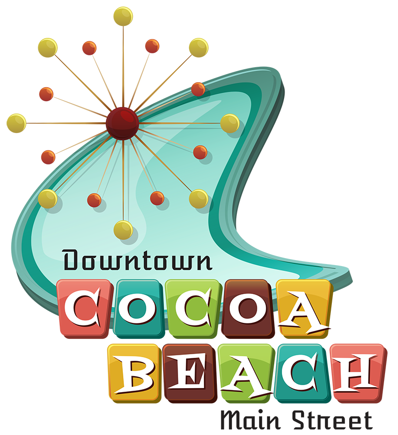 Cocoa Beach Main Street   Local Business. Local Scene. Find it Here! transparent stock