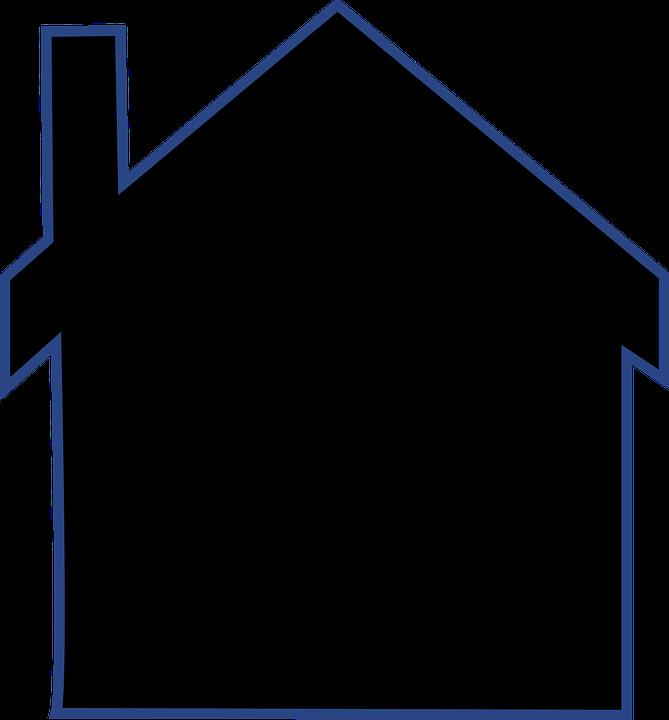 House vector clipart clip transparent free clipart house silhouette - Clipground clip transparent