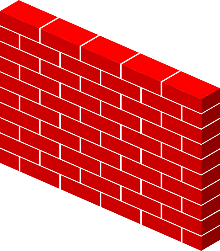 House wall clipart