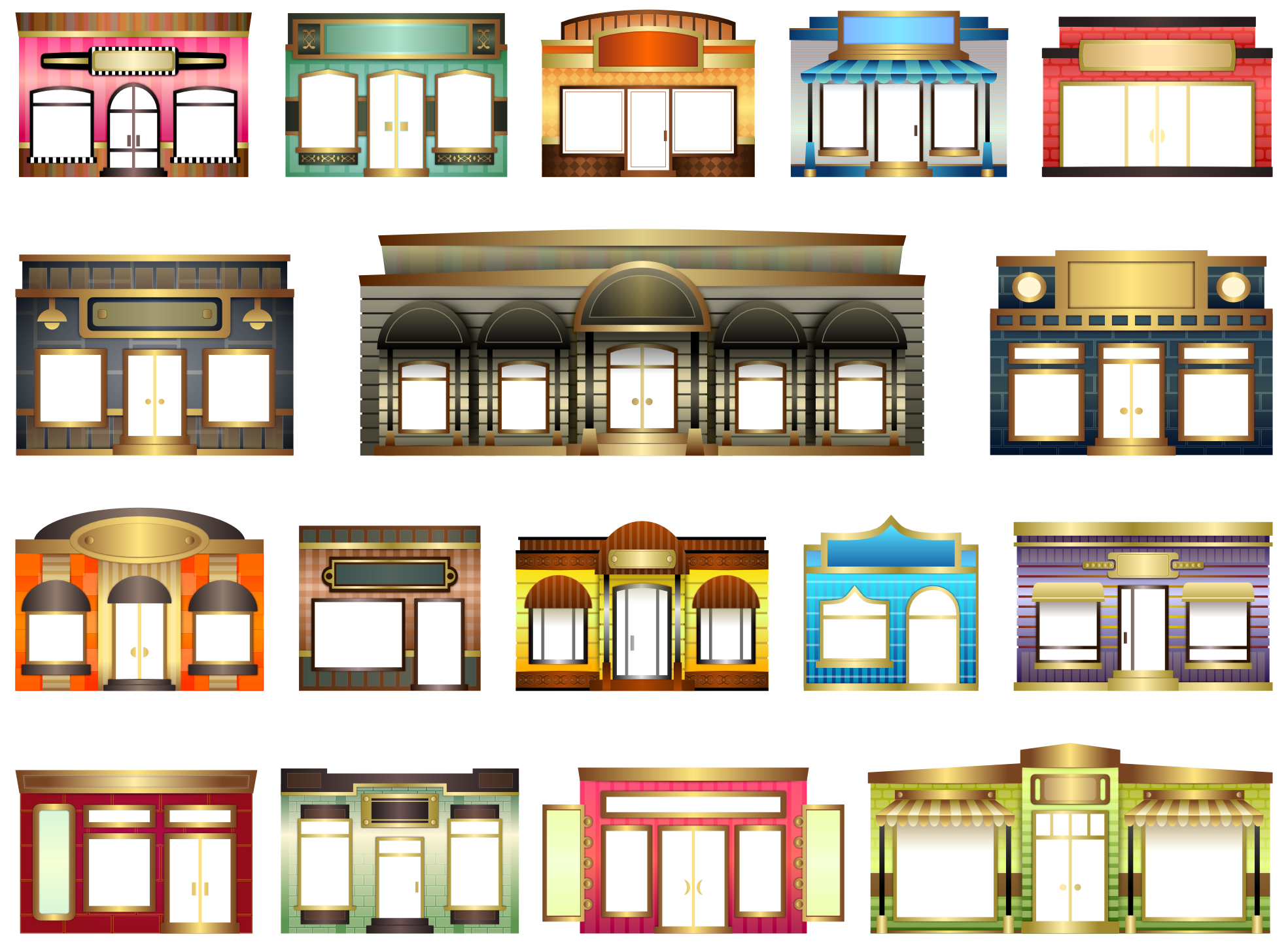 House window clipart clipart freeuse download Store Doors Clipart clipart freeuse download