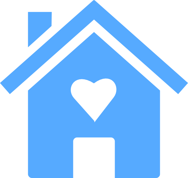 House with a heart clipart vector free library Homewithheart Clip Art at Clker.com - vector clip art online ... vector free library