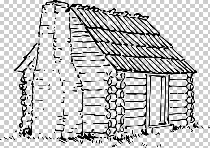 House with chimney and vine clipart black and white banner library library Log Cabin Cottage Drawing PNG, Clipart, Angle, Area, Artwork ... banner library library