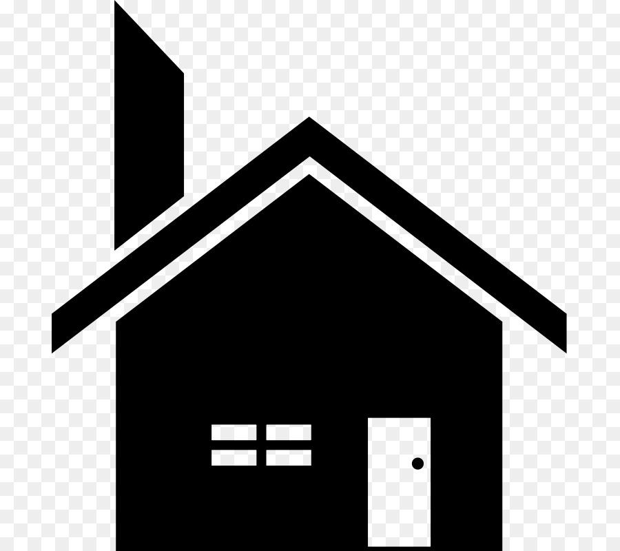 House with chimney and vine clipart black and white jpg freeuse stock Free Silhouette Of House, Download Free Clip Art, Free Clip ... jpg freeuse stock