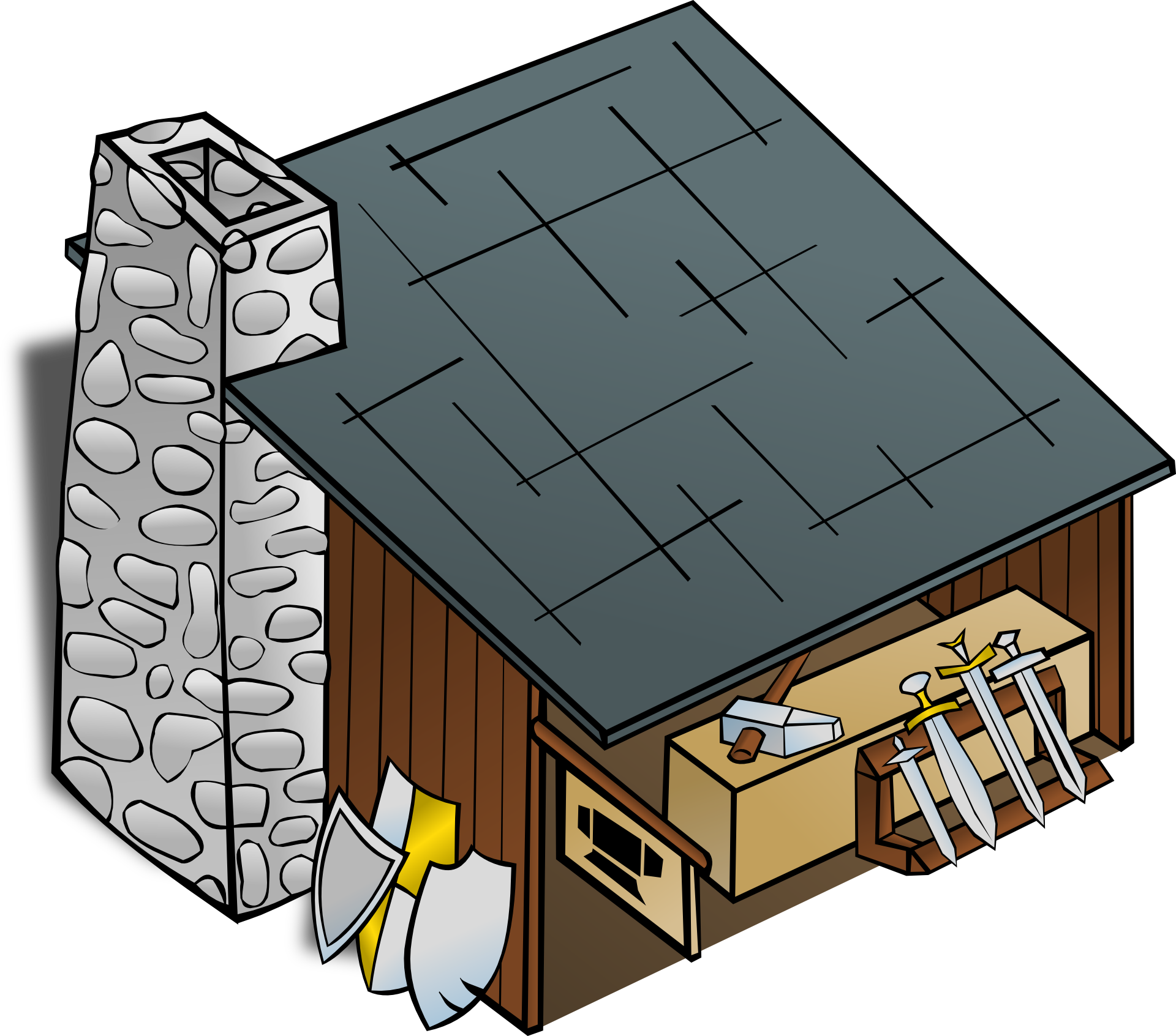 House with chimney clipart clip freeuse download The Blacksmith's Shop Clip art - chimney 1920*1693 transprent Png ... clip freeuse download
