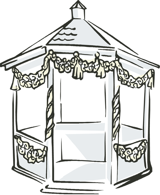 Wedding Gazebo Clipart image library download