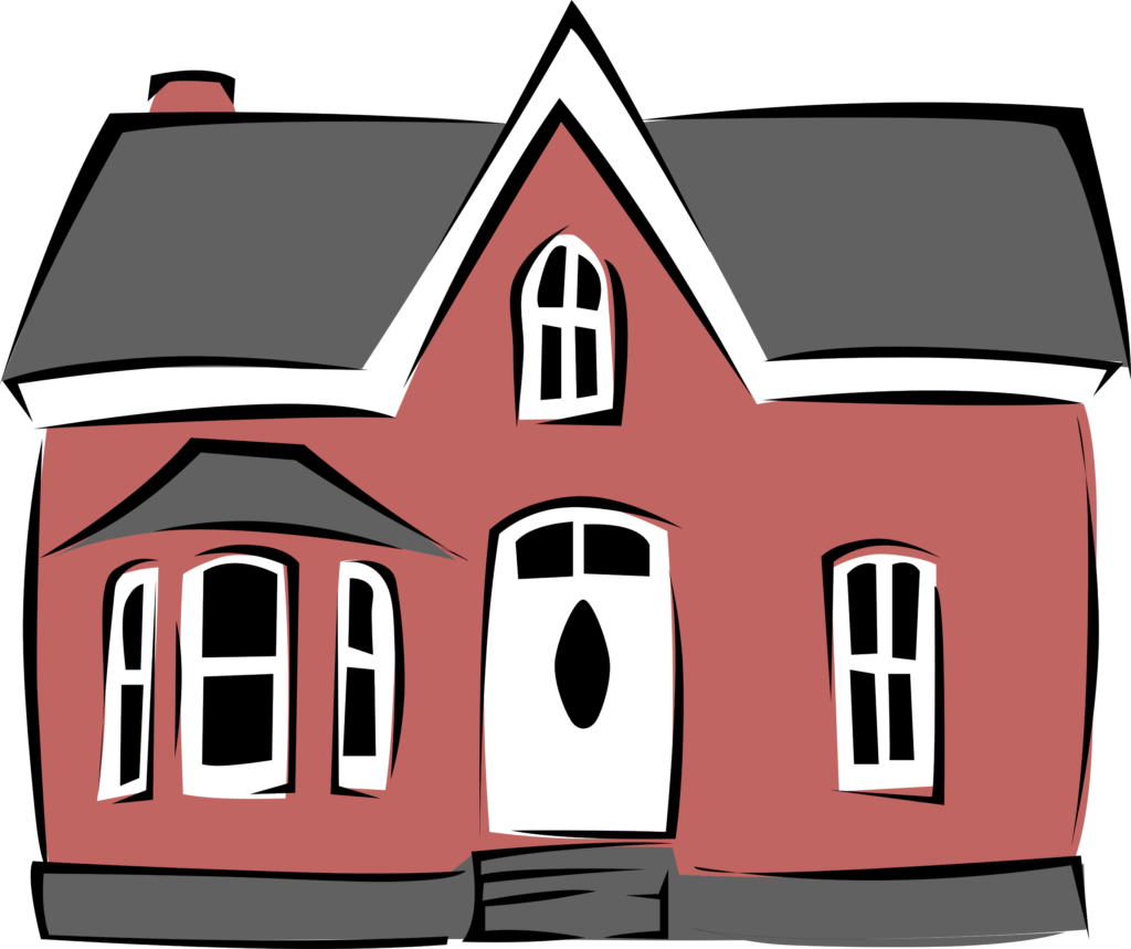 Gerald G Small House Clipart Of | typegoodies.me banner freeuse stock