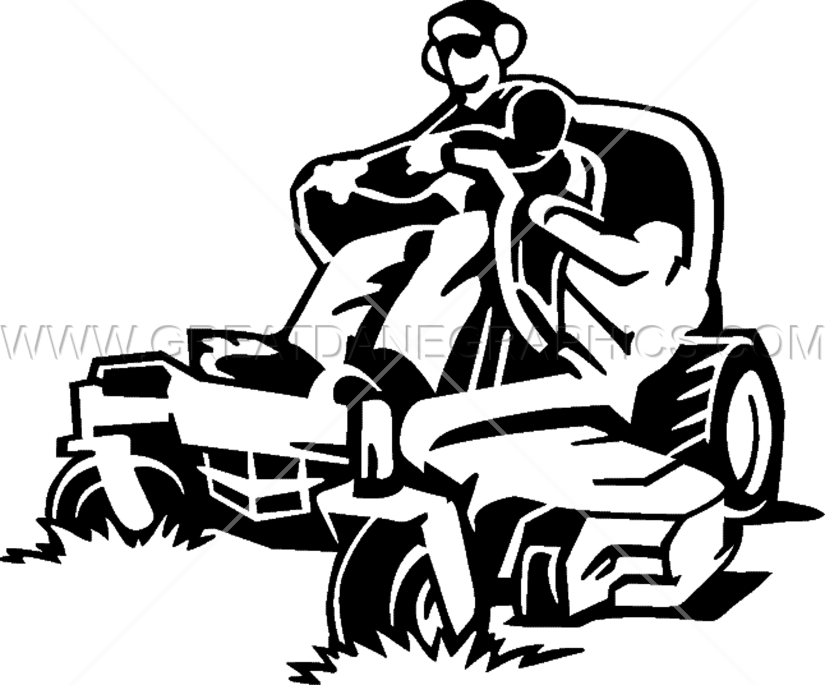 28+ Collection of Clipart Man Mowing Lawn | High quality, free ... clip transparent