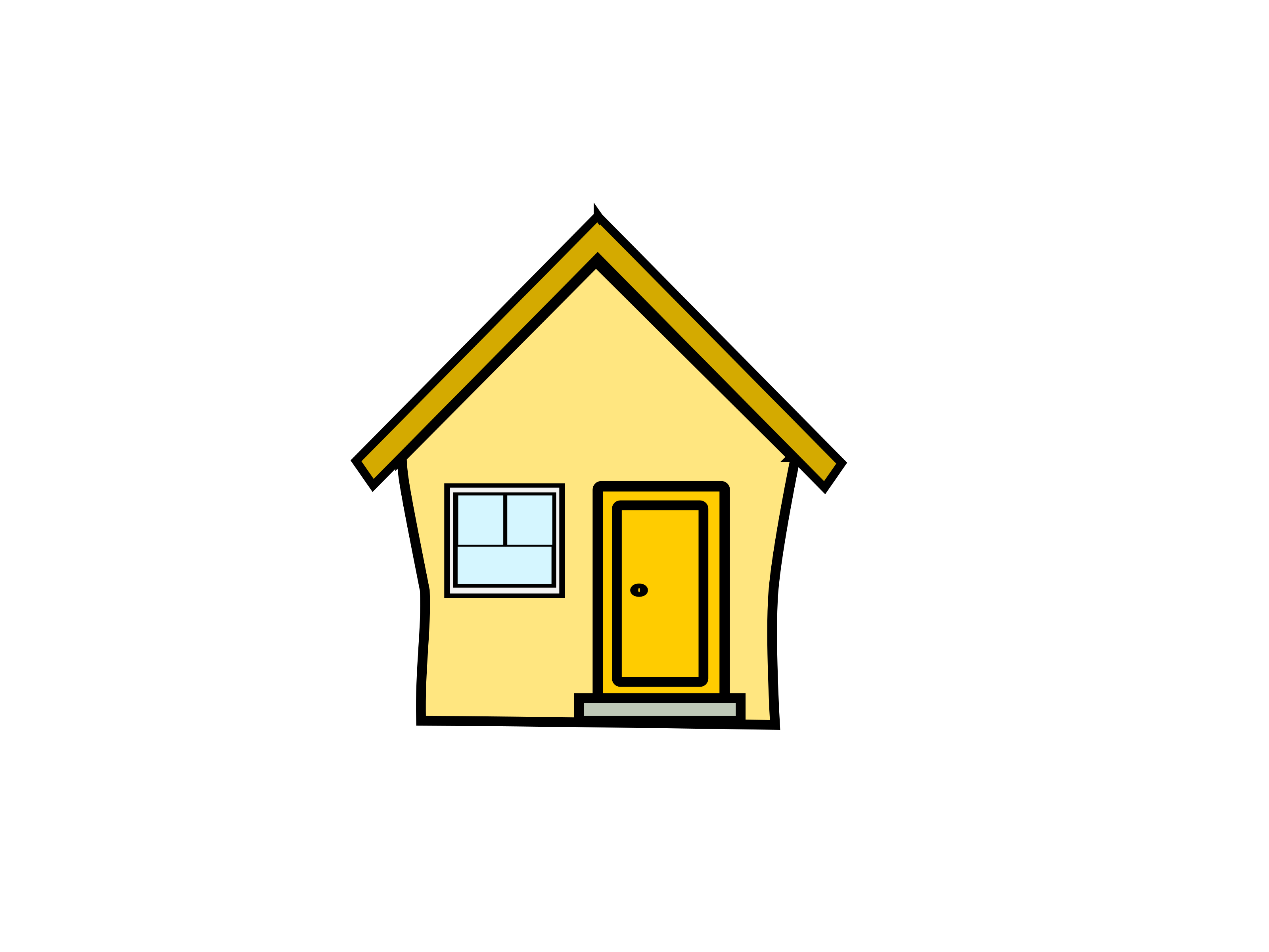 28+ Collection of House With Open Door Clipart | High quality, free ... clipart library download