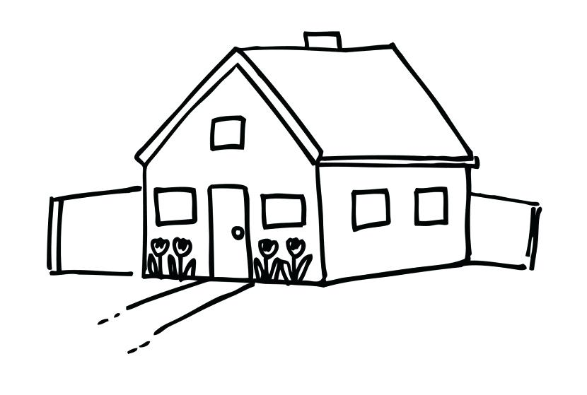 House with pool clipart black and white graphic black and white stock house image clipart – artsoznanie.com graphic black and white stock