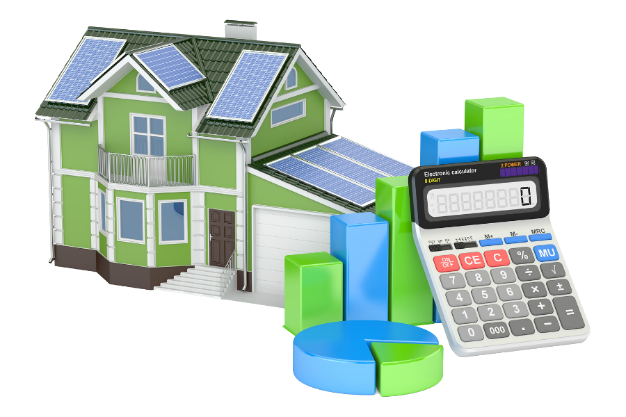 House with solar panels clipart jpg freeuse library Home - Solar Panel Cleaning and Bird Deterrent in Southern California jpg freeuse library