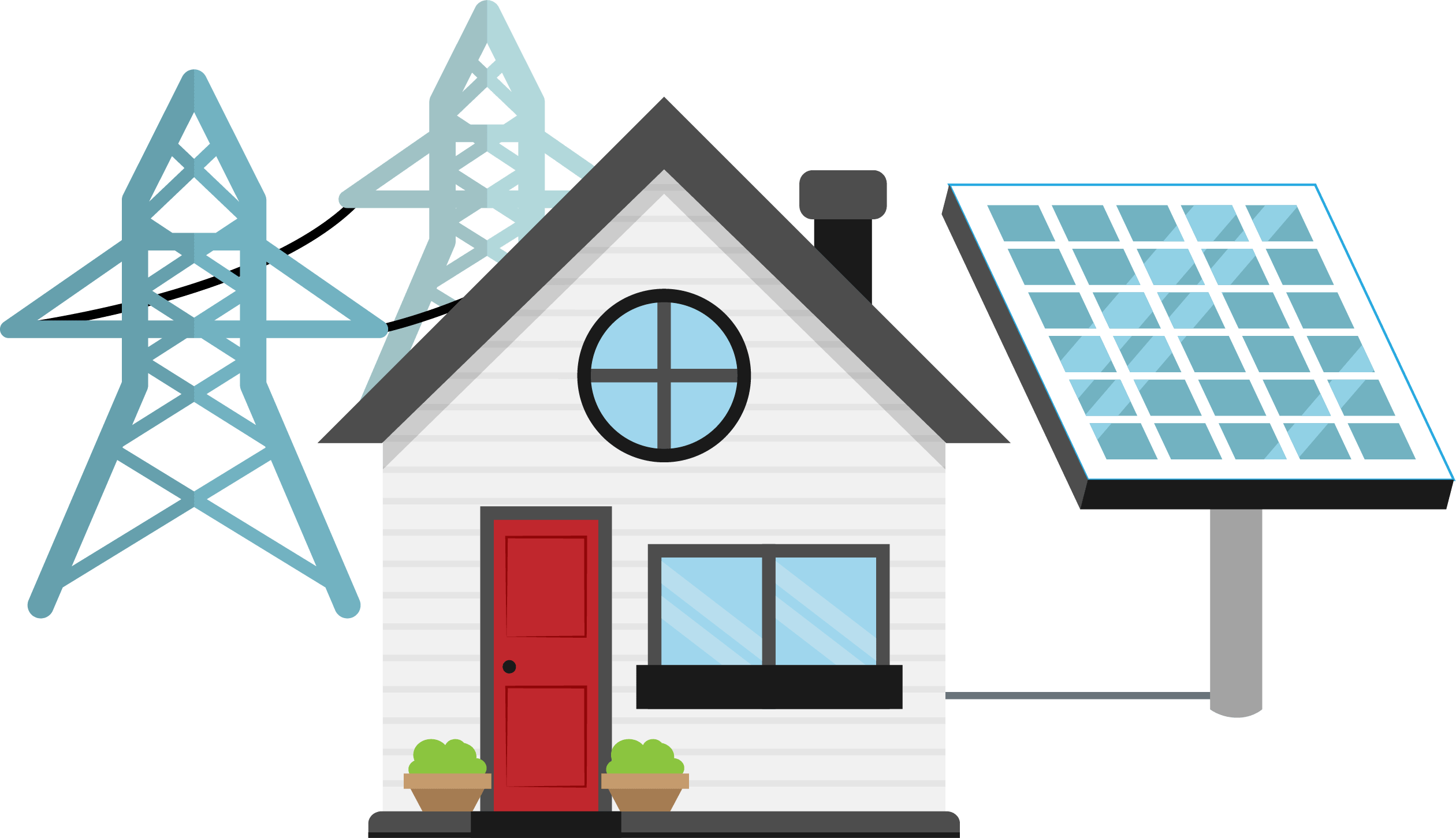 House with solar panels clipart clip library Solar power plants – Спеціалізовані Енергетичні Технології clip library