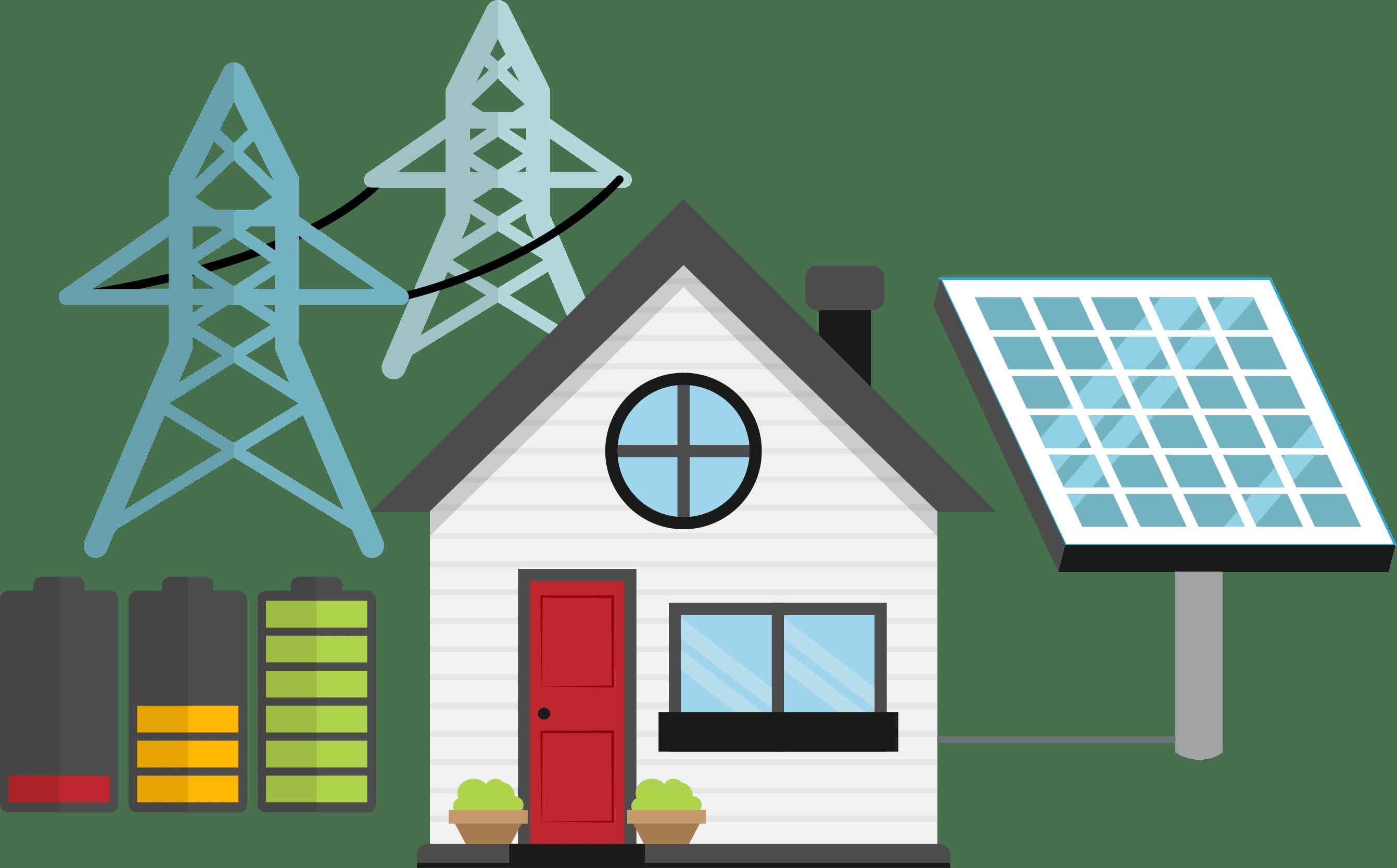 House with solar panels clipart library Solar power plants – Спеціалізовані Енергетичні Технології library