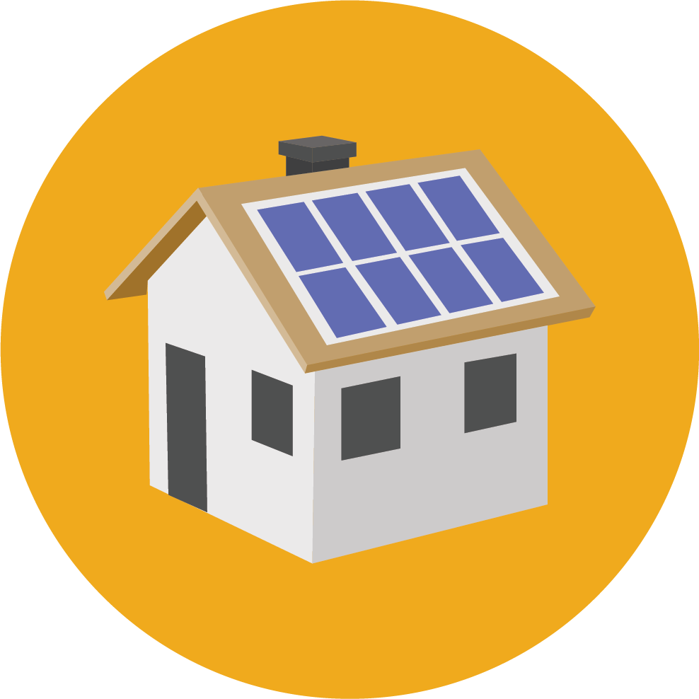 House with solar panels clipart image black and white download Solar Maintenance Company – Professional Solar Panel Cleaning Services image black and white download