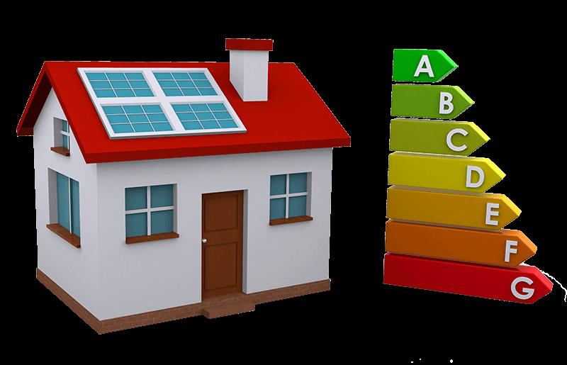 House with solar panels clipart image transparent Energy - Vercom Electrical image transparent