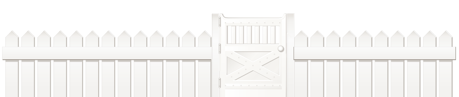White Fence with Door PNG Clipart Picture | Gallery Yopriceville ... png stock