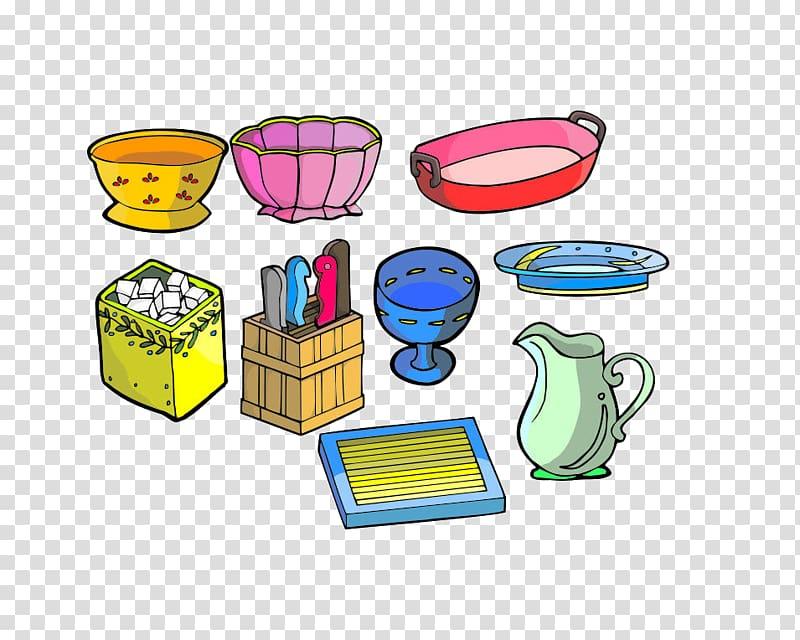 Household goods clipart jpg free stock Household goods Cartoon Drawing, Kitchen transparent ... jpg free stock