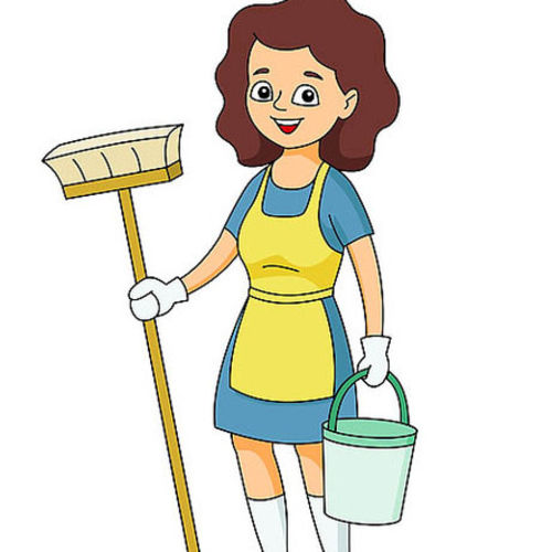 Houskeepers clipart graphic transparent Housekeeper Clipart | Free download best Housekeeper Clipart ... graphic transparent