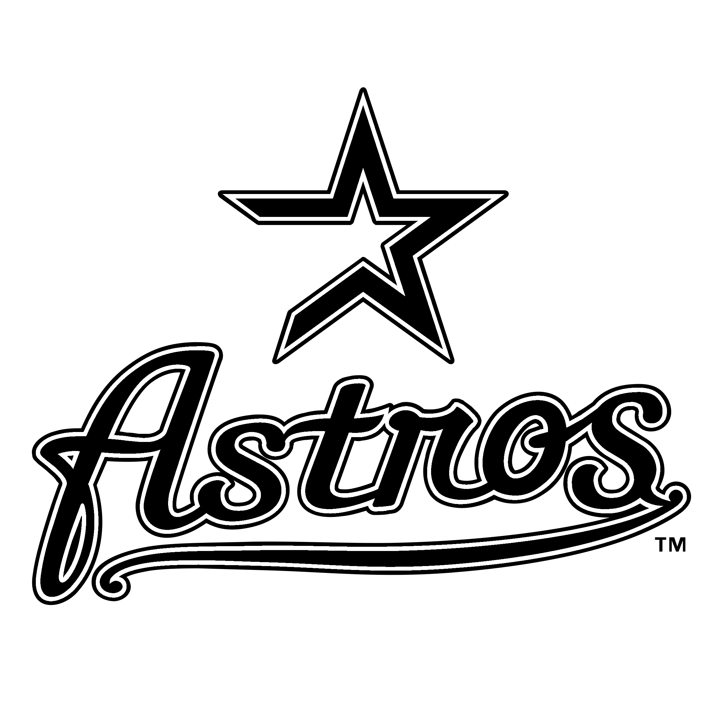 Houston astro clipart png transparent library Houston Astros Logo MLB Decal - minecraft: story mode png ... png transparent library