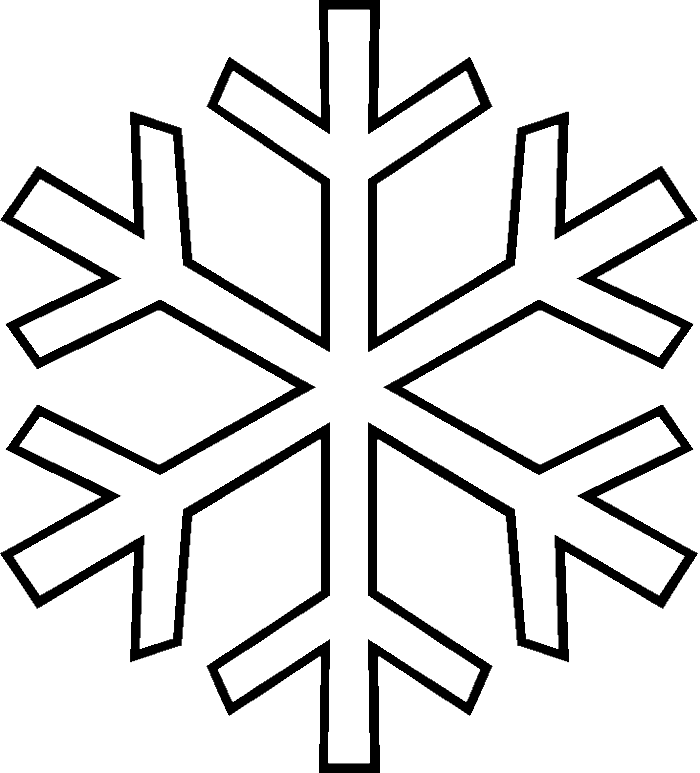 28+ Collection of Drawing Of A Snowflake | High quality, free ... banner free