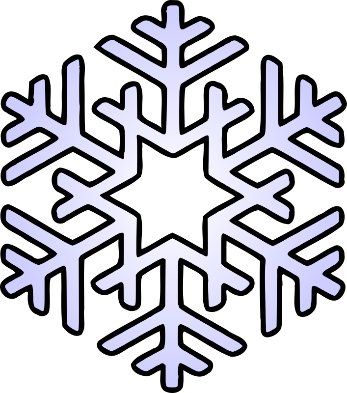 How to draw snowflake clipart image library Clipart - Snowflake image library