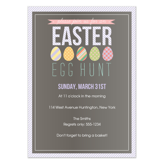 How to make easter egg hunt invitation clipart free graphic transparent library Collection Easter Egg Hunt Invitations Pictures - Weddings Center graphic transparent library
