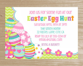 How to make easter egg hunt invitation clipart free clip art Collection Easter Egg Hunt Invitations Pictures - Weddings Center clip art