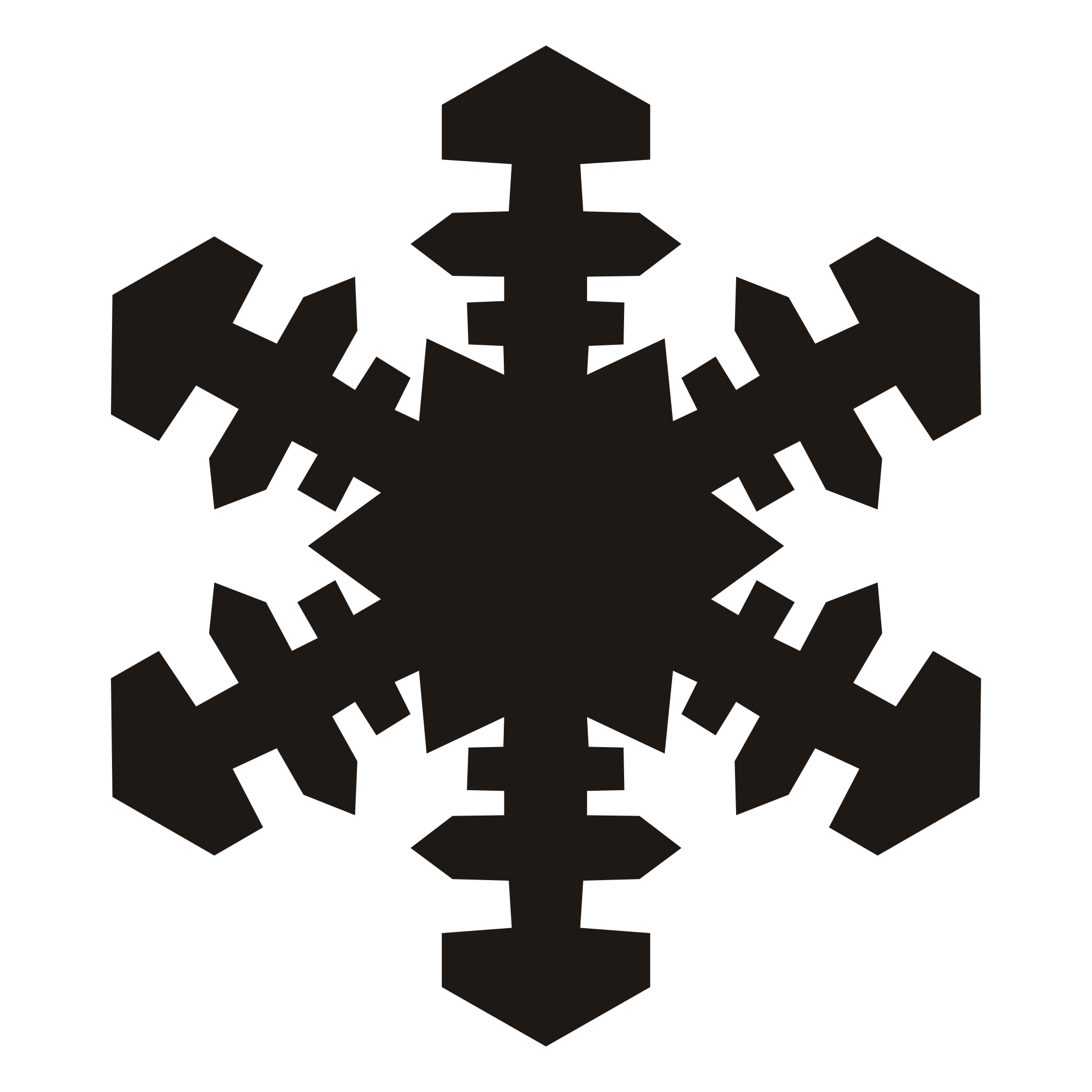 How to make snowflake clipart graphic freeuse download Snowflake Silhouette Cliparts Zone Within | o-val.me graphic freeuse download