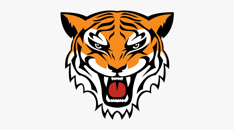 Howard high school clipart png black and white download Howard High School - Tiger Head Simple Drawing #2330427 ... png black and white download