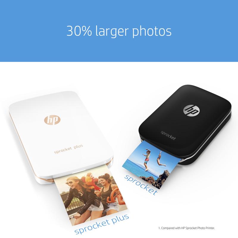 Hp sprocket clipart svg royalty free download HP Sprocket Plus ZINK Photo Printer svg royalty free download