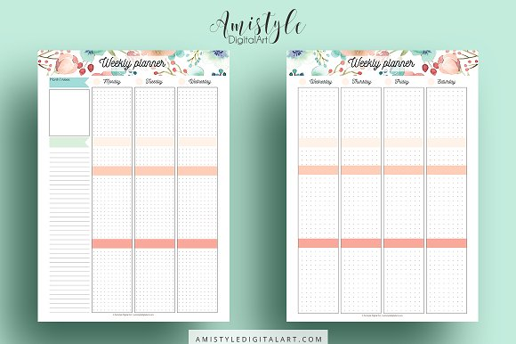 Http amistyledigitalart com cliparts free printable 2017 march calendar clip art Printable Planner Kit clip art