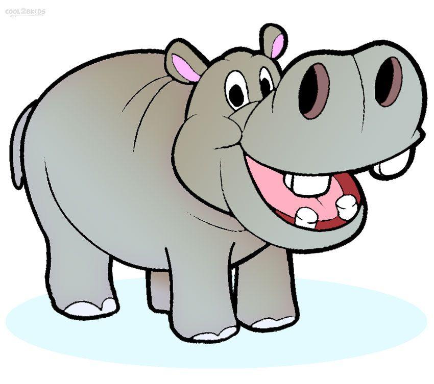 Http free clipart net clipart freeuse library Free Cartoon Hippo Clipart | imagebasket.net | Kids ... clipart freeuse library
