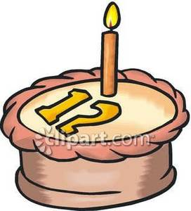Http free clipart net jpg freeuse download 12th Birthday - Royalty Free Clipart Picture jpg freeuse download
