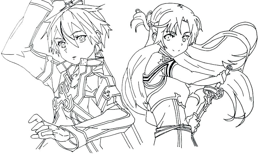 Https www google com images icons hpcg usflag transbg_42 clipart jpg transparent stock Asuna and kirito lineart - 15 linearts for free coloring on ... jpg transparent stock
