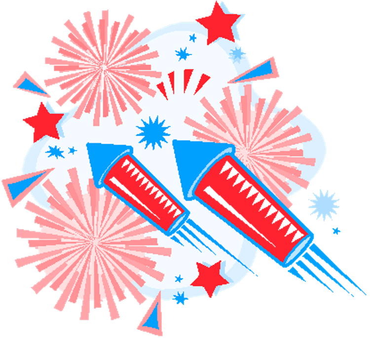 Https www google com search client firefox-b-1-d&q 18th anniversary clipart picture freeuse 4th of clipart fireworks - 47 transparent clip arts, images ... picture freeuse