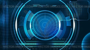 Hud interface clipart image royalty free stock HUD UI business app futuristic user interface HUD - stock ... image royalty free stock