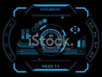 Hud interface clipart free Futuristic User Interface Hud premium clipart - ClipartLogo.com free