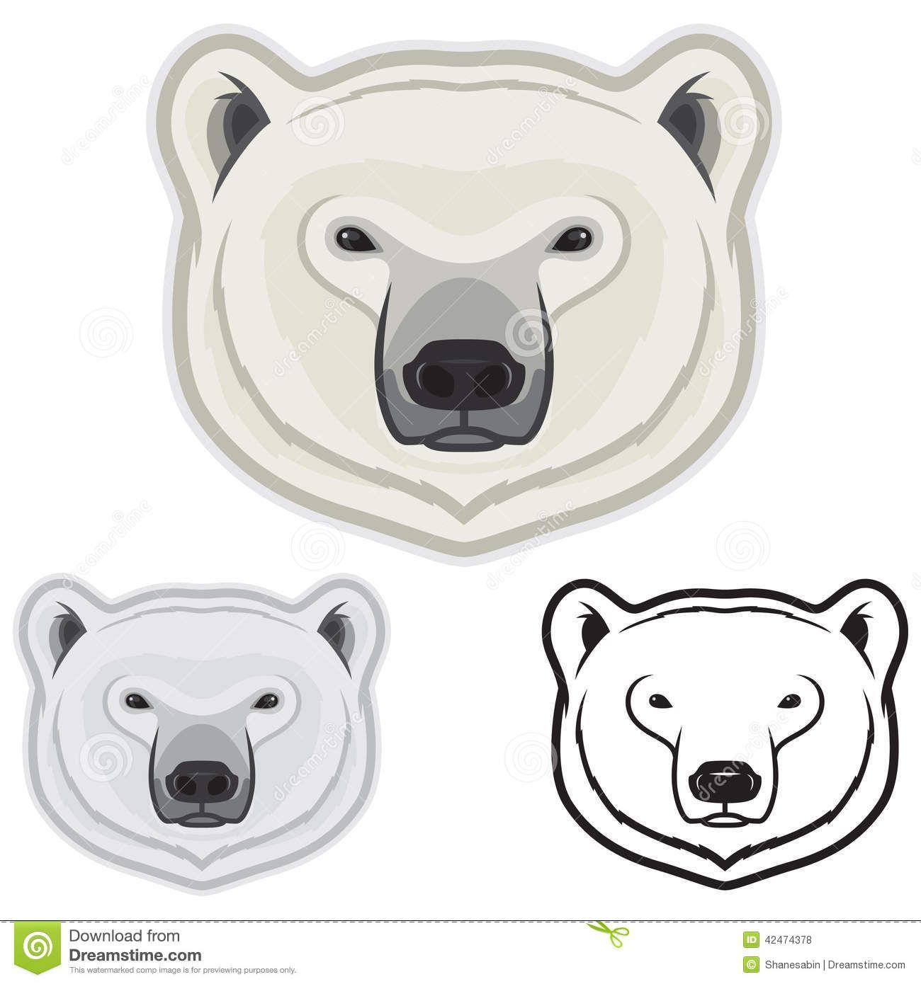 Huella de oso polar clipart blanco y negro clip art library Caras Del Oso Polar - Descarga De Over 40 Millones de fotos ... clip art library