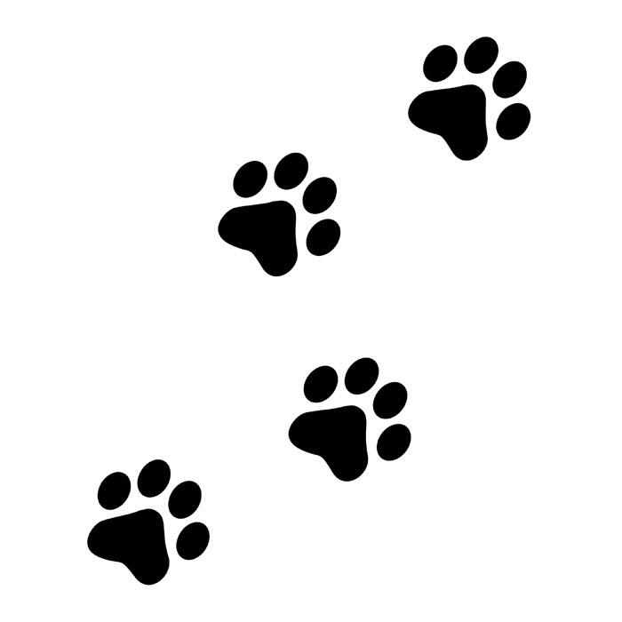 Huellas de perro clipart svg stock Free Huella De Perro, Download Free Clip Art, Free Clip Art ... svg stock