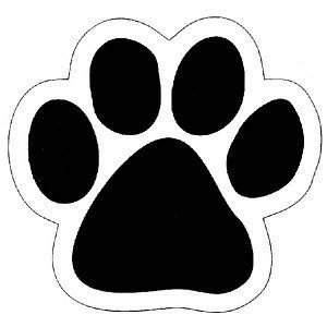 Huellas de perro clipart banner freeuse library Wildcat Paw Prints - ClipArt Best | manualidades en 2019 ... banner freeuse library