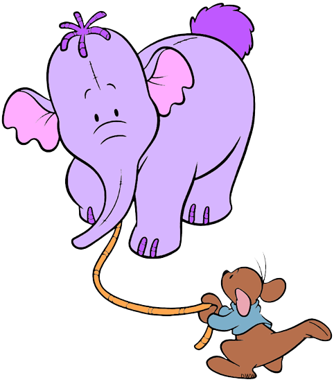 Huffalump clipart picture freeuse Pooh\'s Heffalump Movie Clip Art | Disney Clip Art Galore picture freeuse