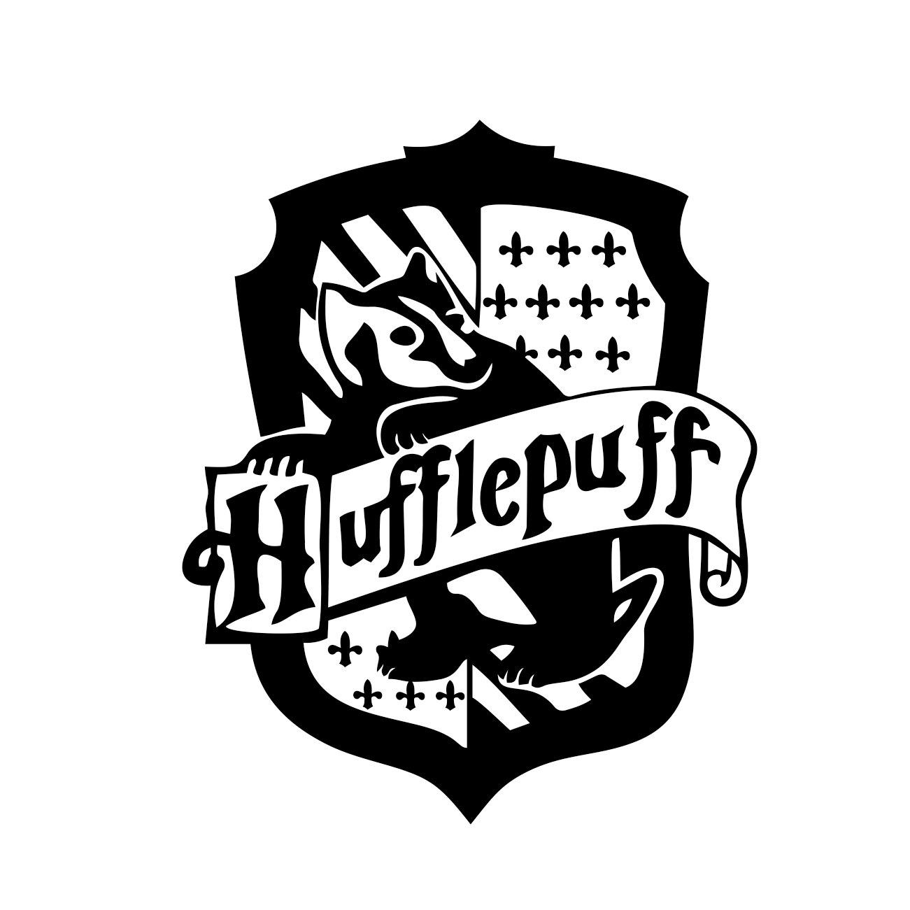 Hufflepuff crest clipart picture transparent download Hufflepuff Harry Potter House Badge Crest graphics design SVG DXF EPS Png  Cdr Ai Pdf Vector Art Clipart instant Digital Cut Print File Decal picture transparent download