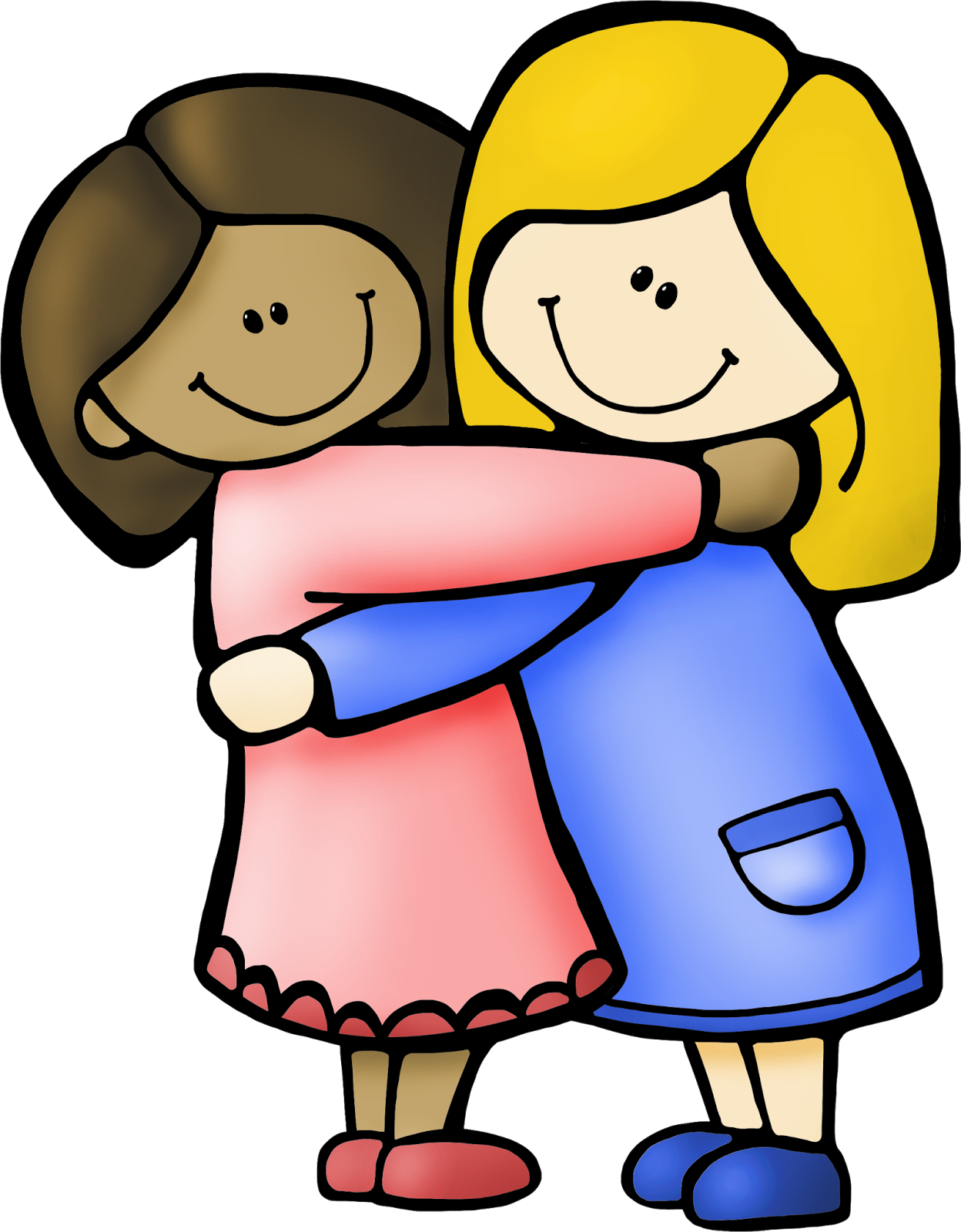 Hugs clipart free image royalty free download hug clipart - Honey & Denim image royalty free download