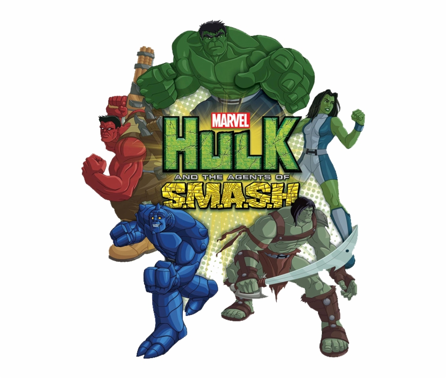 Hulk and the agents of smash clipart
