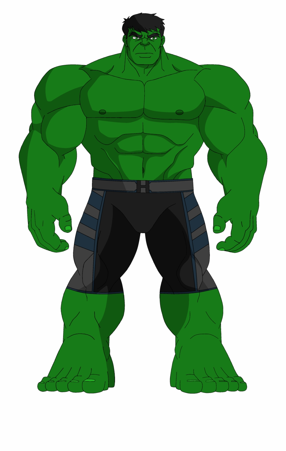 Hulk and the agents of smash clipart graphic black and white Hulk Clipart , Png Download - Hulk Clipart Free PNG Images ... graphic black and white