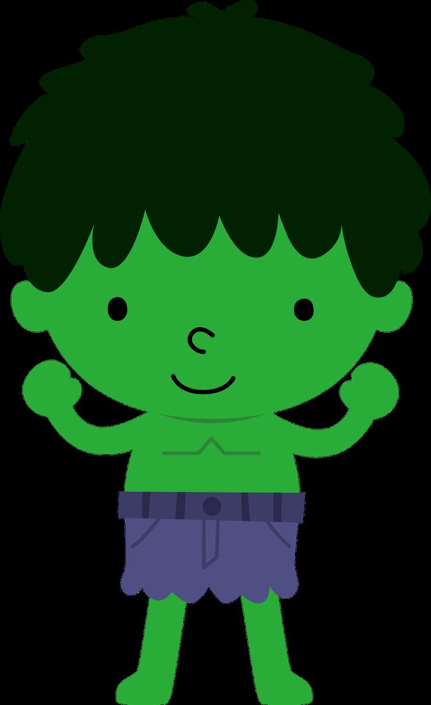 Hulk boy clipart png free stock Super Heróis - Minus | alreadyclipart - super hero\'s ... png free stock