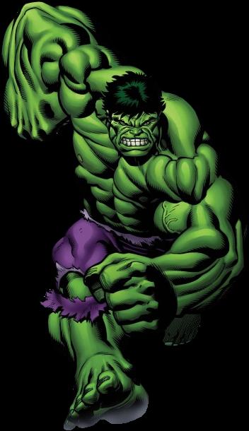 Hulk desenho clipart